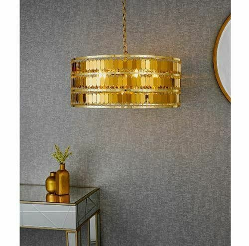Eldora 5lt Gold Plated pendant light
